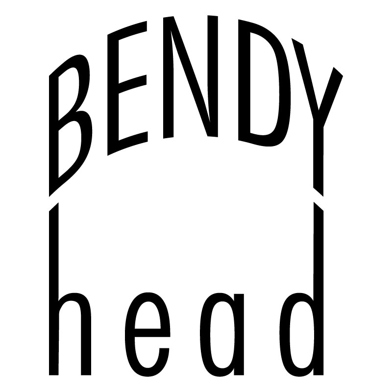 Bendy Head Retina Logo